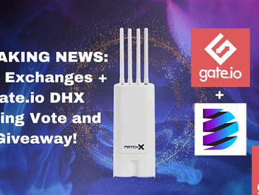 New Exchanges for MXC & DHX