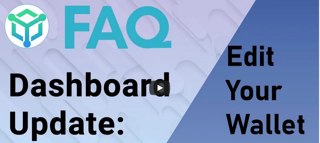 DASHBOARD UPDATE Wallet Edit