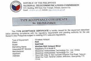 RAK7248_HotspotMiner_V2.0_PH_certificate